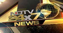 NDTV 24x7 Live TV Streaming