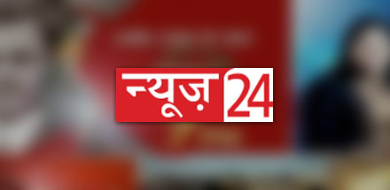 Watch News-24 Live TV Streaming