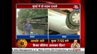 One Dead, 35 Injured As Bus Overturns Near Dadar TT Junction