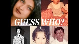 Guess Who are these Bollywood celebrities?