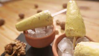 Pumpkin And Walnut Kulfi Recipe | Walnut Surprise by Chef Anupa | Sanjeev Kapoor Khazana