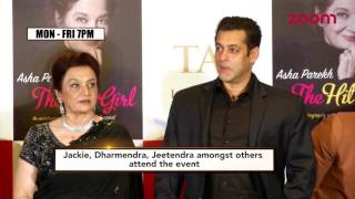 Salman Khan Launches Asha Parekh's Biography | Bollywood News