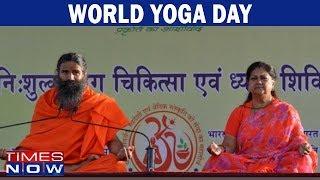 World Yoga Day: Baba Ramdev & CM Vasundhara Raje To Make World Records