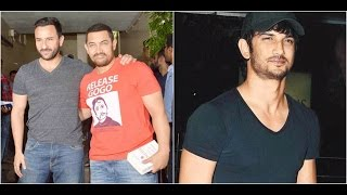 Saif Praises Aamir For 'Dangal'| Sushant Would Be Travelling For The New Year's Eve