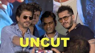 UNCUT Raees Trailer Launch | Shah Rukh Khan