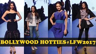 Bollywood Hotties Sonakshi, Tamannah, Neha & Kajal | Day 1 LFW 2017