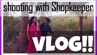 BTS With Gaurav Gera | Sarees, Slow-Mos, Shopkeeper & Much More | Mostlyvlogs