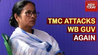 Bengal Governor Acting Like A Sangh Worker TMC Ups Ante Against Guv Again