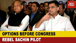 Sachin Pilot Sacked As Deputy CM And PCC Chief; Decoding Possible Options Before Him