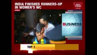 Indian Women's Cricket Team Gets Arousing Welcome In India