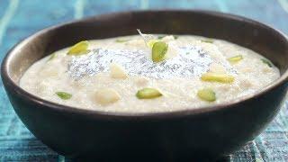 Rabdi | Simple Vegetarian Khana With Chef Saurabh | Sanjeev Kapoor Khazana