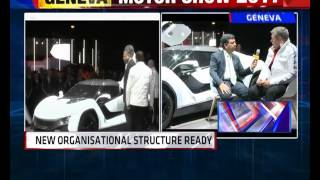 Tata Motors' Sports Coupe - TAMO Racemo | Hormazd Sorabjee In Conversation With Tata Motors CEO