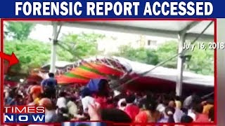 Times Now Accesses State Report Of Tent Mishap At PM Modi's Rally