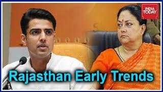Rajasthan #Results2018: Vasundhara Raje Leading At Jhalrapatan Sachin Pilot Leads In Tonk