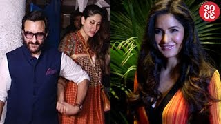Saif Ditches An International Event On Kareena's Behest |Katrina Talks About Jagga Jasoos Delay