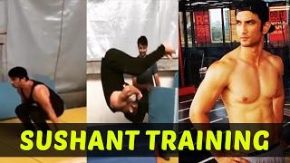 MS Dhoni - Sushant Singh Rajput Training Video