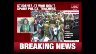 ABVP Students Accused Of Targeting Teachers & Students In Delhi