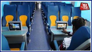 Shjatak Aaj Tak: Railway Minister Suresh Prabhu Launches Premier Train Tejas Express