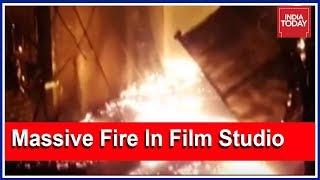 Massive Fire Breaks Out In Vrindavan Film Studio In Gujarat's Valsad