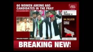 Firing Between Supporters Of BSP & SP In Uttar Pradesh On Poll Day