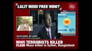 """"""" My Name Taken Off Interpol's List""""  Lalit Modi, Sports Tycoon"""