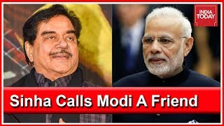 Shatrughan Sinha Says PM Modi Is Good Friend But Won't Stop Calling Out Wrong