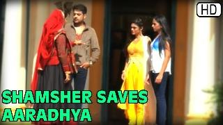 Shamsher Saves Aaradhya | Piya Rangrezz | 15th April 2016