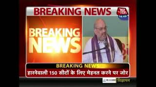 Amit Shah Aims To Win Over 390 Seats In 2019 Lok Sabha Elections