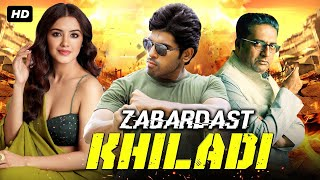 Zabardast Khiladi - Action Romantic Movie Ragini Dwivedi 2021 | New Hindi Dubbed South Indian Movie