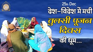 तुलसी माता के भजन औरदेश-विदेशमेंतुलसी पूजन दिवस की'धूम #tulsibhajan | Sant Asharamji Ashram News