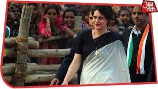 Priyanka Gandhi बोलीं- चौकीदार को गन्ना किसानों की फिक्र नहीं अमीरों की करते हैं ड्यूटी