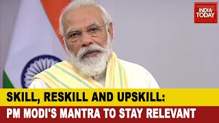 'Mantra To Stay Relevant Is Skill Reskill And Upskill': PM Modi On World Youth Skills Day