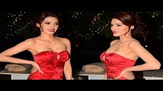 Sherlyn Chopra Expose Hot Cleavage In Strapless Dress!