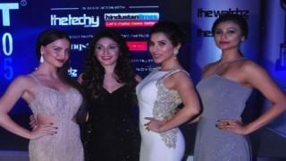 Bollywood Hotties At Exhibit Tech Awards 2015