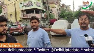 TULSI NAGAR -  गंदगी का लगा अंबार पर नहीं सुनते जनप्रतिनिधि || Prerna Singh || Delhi Uptodate