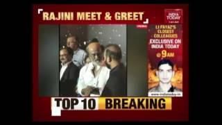 Superstar Rajinikanth To Meet Fans For 4 Days