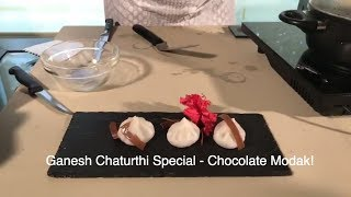 Ganesh Chaturthi Special with Chef Anupa Das - Chocolate Modak