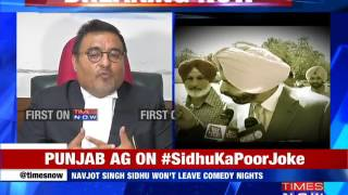Atul Nanda Reacts On The Fact That Navjot Singh Sidhu Has Decided Not To Give Up Comedy Show