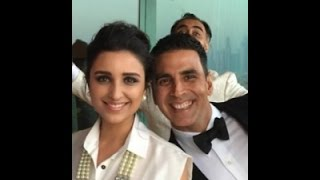 Akshay Kumar & Parineeti Spotted At The Airport | Bollywood News