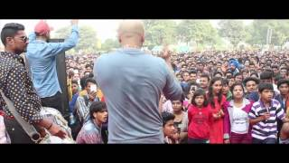 Dahek performing Daddy Karde Case Live for Times Of India event