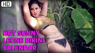 Hot Sunny Leone's Sexy Bikini Calendar | Manforce Condoms
