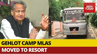 Rajasthan Resort Politics; Ashok Gehlot Camp MLAs Moved From CM's Residence