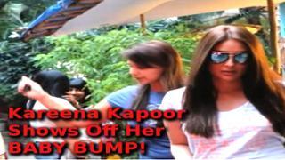 Kareena Kapoor Shows Off Her BABY BUMP