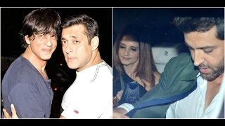Shahrukh & Salman To Share Screen In 'Tubelight'| Hrithik Celebrates Birthday With Wife, Kids & Frie