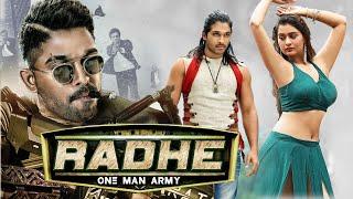 Radhe (One Man Army) Latest Movie | Superhit 2020 New Released Full Hindi Dubbed Movie | Allu Arjun