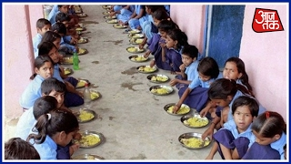 9 Kids Hospitalized After Rat In Midday Meal, BJP Stage Protest