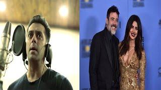 Salman Will Soon Launch A Music Label | Priyanka Presents Award At Golden Globe & More