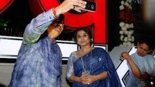 Vidya Balan At Selfie Point Launch | Kahaani 2 Promotions