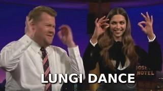 Deepika Padukone Teaches James 'The Lungi Dance'