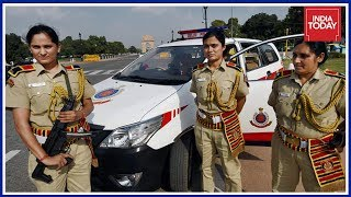 Delhi Police Launches PCR Vans For Safety Of Women At Public Places   Good News Today